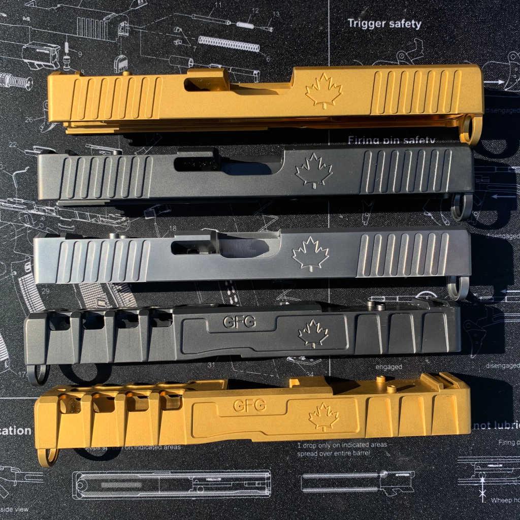 GFG slides for Glock-compatible pistols