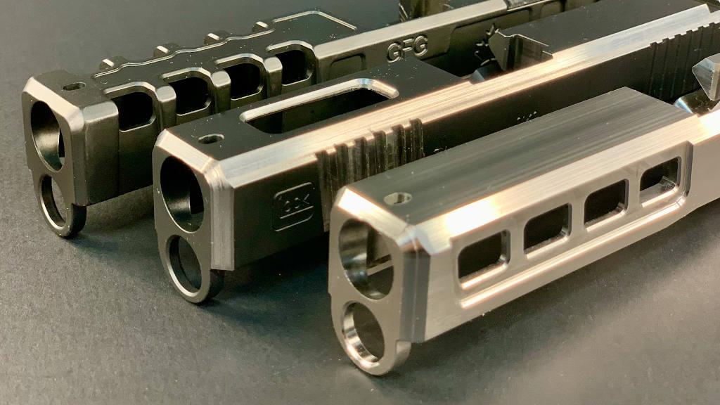 GFG custom Glock slide made in Ontario Canada