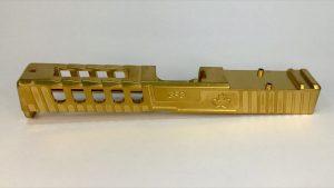 GFG Raptor Slide for GLOCK 17 Gen4, Golden Titanium Nitride