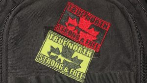 """GFG """"True North"""" Tactical Velcro Patch"""