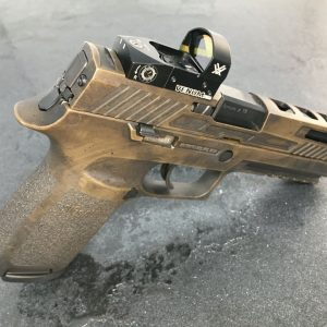 SIG Sauer P320 optic cut