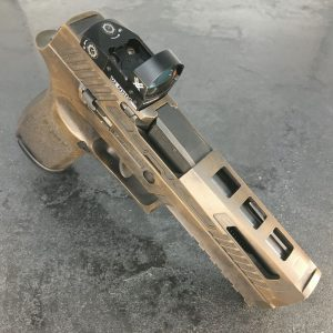 GFG Battleworn FDE Sig Sauer P320