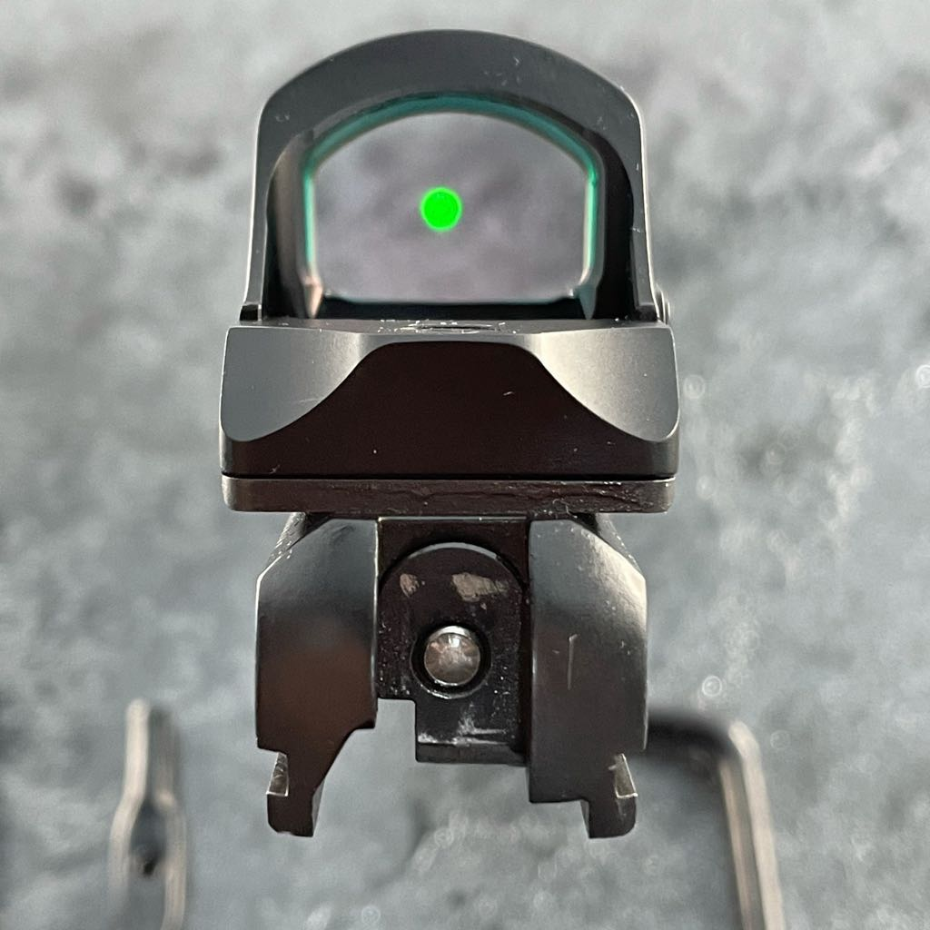 GFG OPTIC MOUNT PLATE CZ SHADOW STAINLESS STEEL