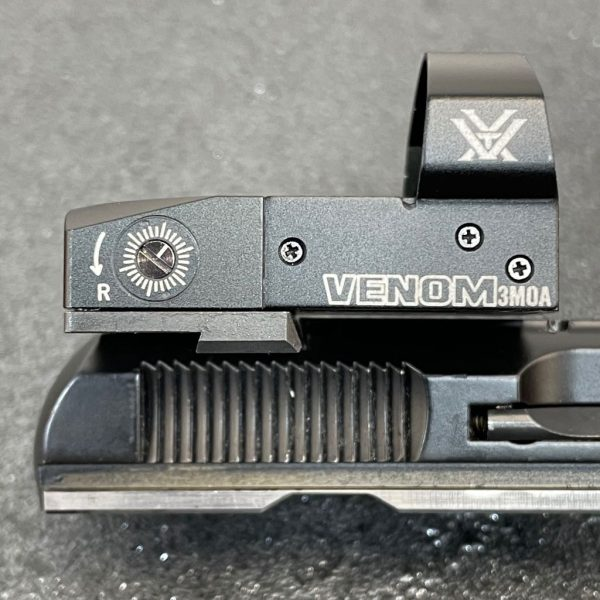 GFG OPTIC MOUNT PLATE CZ SHADOW STAINLESS STEEL VORTEX VENOM