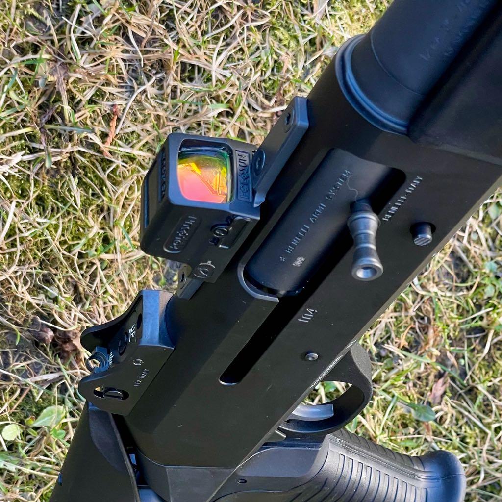 GFG RED DOT OPTIC MOUNT PLATE BENELLI M4 M2 SHOTGUN TRIJICON RMR HOLOSUN 507C 508T 509T VORTEX VENOM